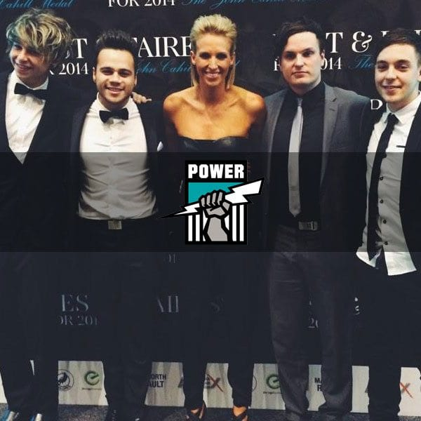 Port Adelaide Football Club Ambassador Matt Tarrant