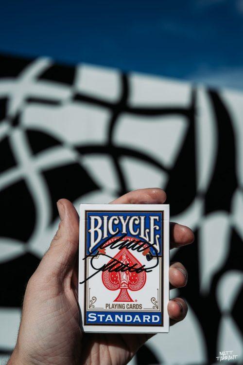 Signed Playing Cards - Matt Tarrant