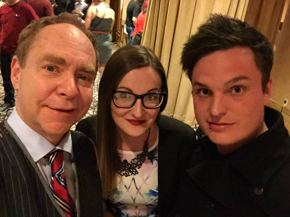 Teller, Kiera and Myself
