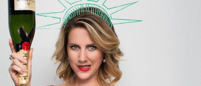 Amelia Ryan is Lady Liberty