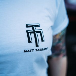 Long Tee White - Matt Tarrant