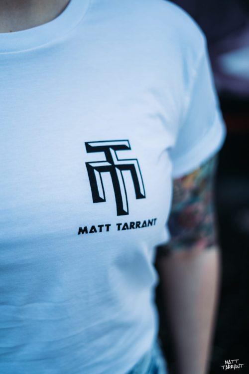 Long Tee White - Matt Tarrant