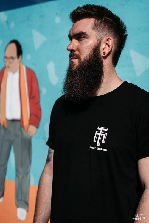 Long Tee Black - Matt Tarrant
