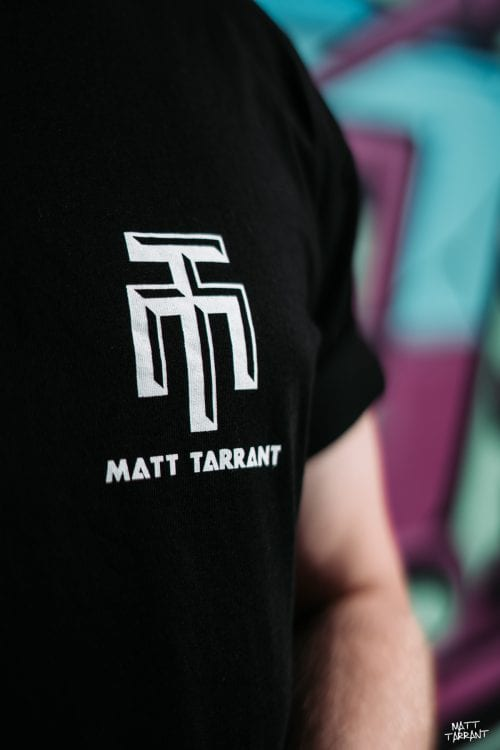 Long Tee Black - Matt Tarrant